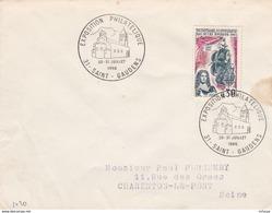 CL1113 Cachet Comm. GF/YvT 1461 Expo. Philatélique 30-31 07 1966 31 St Gaudens - Marcophilie (Lettres)