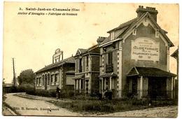 SAINT-JUST En CHAUSSEE - Atelier D'aveugles - Fabrique De Brosses - Voir Scan - Saint Just En Chaussee