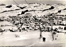 Appenzell Mit Skilift Sollegg (28269) * 15. 2. 1968 - AI Appenzell Inner-Rhodes