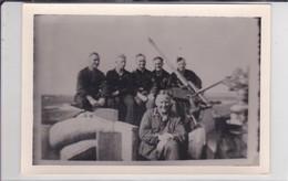 [76] Le Havre Bleville Photo WW2 DCA 20 Mm & Soldats Allemand Protégeant Camp D'aviation De Bleville  Ref 200557 - Le Havre