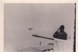 [76] Le Havre Bleville Photo WW2 DCA 20 Mm & Observateur Allemand Protégeant Camp D'aviation De Bleville  Ref 200561 - Other