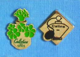2 PIN'S //  ** CABOTINE DE GRÈS / VAPORISATEUR CALINE ** - Parfums