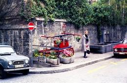 80s ALFA ROMEO GIULIETTA SPRINT RENAULT 4L LAUSANNE SUISSE SWITZERLAND AMATEUR 35mm ORIGINAL NEGATIVE Not PHOTO No FOTO - Fotografia