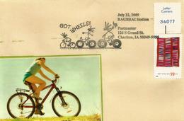 USA. A Good Companion On The CHARITON CYCLING TRAILS (Iowa) , Letter From Chariton (Iowa) - Natur