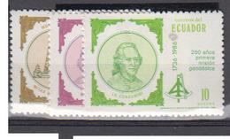 EQUATEUR     1986      N °   1124  / 1126      COTE     3 € 75         ( Q 319 ) - Equateur