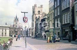 80s STREET SCENE CAMBRIDGE UK ENGLAND AMATEUR 35mm ORIGINAL NEGATIVE Not PHOTO No FOTO - Fotografia