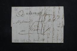 FRANCE - Marque Postale De Marseille Sur Lettre En 1788 Pour Le Havre - L 60850 - 1701-1800: Vorläufer XVIII