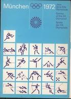 JO72-E/L21 - ALLEMAGNE CP MUNICH Jeux Olympiques De 1972 - Jeux Olympiques