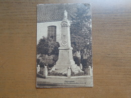 Zwevegem - Sweveghem: Gedenkteken Der Oorlogslachtoffers 14/18  -> Beschreven 1937 - Zwevegem
