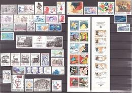 FRANCE - 1988 - Année Complète - N° 2501 à 2559 - Neufs ** - 1980-1989