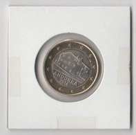ANDORRA EUROS MONEDAS SUELTAS SACADAS DE ROLLOS 1,00€. DEL AÑO 2014. PARA CIRCULAR 511.842 UNIDADES - Andorra