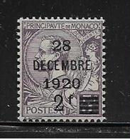 MONACO ( MC1 - 51 )  1921  N° YVERT ET TELLIER  N°  50  N* - Unused Stamps