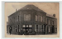 60 AUNEUIL #10302 HOTEL BRACONNIER CAFE RESTAURANT STATION POMPE A ESSENCE EDIT BRACONNIER - Auneuil