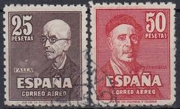 ESPAÑA 1947 Nº 1015/16 CENTRADO LUJO USADO - 1931-50 Gebraucht