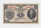 NETHERLANDS INDIES 1 GULDEN 1943 VF+ CRISP Banknote P 111 - Indes Neerlandesas