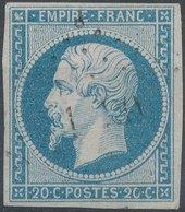 FRANCE - 1854, Yt 14, 20c, Oblitére - France