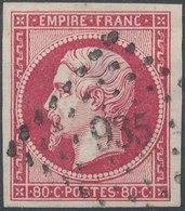 FRANCE - 1854, Yt 17A, 80c, Oblitére - France