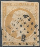 FRANCE - 1853, Yt 13, 10c, Oblitére - France