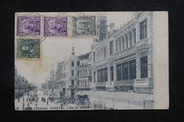 BRÉSIL - Affranchissement De Rio De Janeiro Sur Carte Postale Pour La France En 1909 - L 60875 - Briefe U. Dokumente
