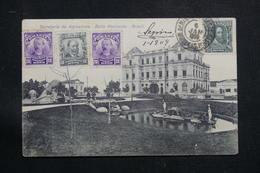 BRÉSIL - Affranchissement Plaisant Sur Carte Postale Pour La France En 1909 - L 60876 - Briefe U. Dokumente