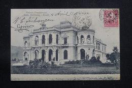 BRÉSIL - Affranchissement Plaisant Sur Carte Postale Pour La France En 1909 - L 60877 - Briefe U. Dokumente