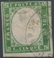 ITALY - SARDINIA, 1855, Mi SA10 - Sardaigne
