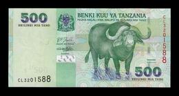 Tanzania 500 Shillings Cape Buffalo 2003 Pick 35 SC UNC - Tanzania