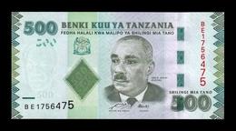 Tanzania 500 Shillings 2010 Pick 40 SC UNC - Tanzanie
