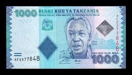 Tanzania 1000 Shillings 2010 Pick 41a SC UNC - Tanzania