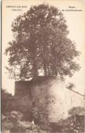 21 - ARNAY-le-DUC - Reste De Fortifications - Aignay Le Duc