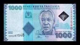 Tanzania 1000 Shillings 2015 Pick 41b SC UNC - Tanzanie