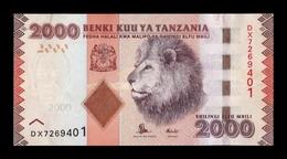Tanzania 2000 Shillings 2015 Pick 42b SC UNC - Tanzanie