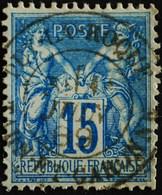 -Sage N°90  Type Ll.(CAD) O.PUY-LA-ROQUE ( 85 ) JUIN 1889. - 1876-1898 Sage (Type II)