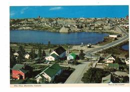 FLIN FLON, Manitoba, Canada, Part Of Town & Ross Lake, Old 4X6 Chrome Postcard - Manitoba
