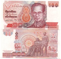 Thailand - 100 Baht 1994 Pick 97(2) UNC Lemberg-Zp - Thailand