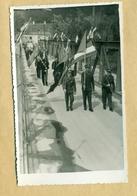 Laško? Proslava, Foto, Zastava Pivovarna Laško, Jugoslavija, 1950-1970, Most, Bridge, SFRJ, Slovenija, Savinja - Slovénie