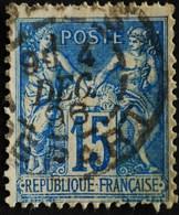 -Sage N°90  Type Ll.(CAD) O.PARIS DEPART 4 DEC 1896. - 1876-1898 Sage (Type II)