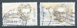 Belgique YT N°2637/2638 Europa 1996 Femmes Célèbres Oblitéré ° - 1996