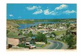 "FLIN FLON, Manitoba, Canada, ""A Town Built On Rocks"", Old 4X6 Chrome Postcard - Manitoba"
