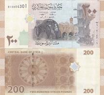 Syria - 200 Pounds 2009 UNC Lemberg-Zp - Syria