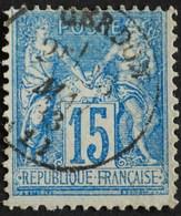 -Sage N°90  Type Ll.(CAD) O.CERDON ( 01 ) - 1876-1898 Sage (Type II)