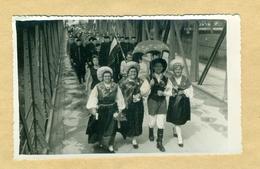 Laško? Proslava, Foto, Slovenska Narodna Noša, Jugoslavija, 1950-1970, Most, Bridge, SFRJ, Slovenija, Savinja - Slovénie