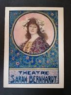 Programme. Théâtre Sarah Bernhardt. La Gloire. - Programs