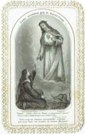 Image Religieuse. Canivet. Ed. Bonamy, Poitiers. Ame Secourue Par Sacré Coeur. - Images Religieuses