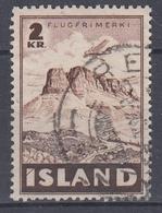 +Iceland 1947. Airmail. Michel 245. Cancelled. - Poste Aérienne