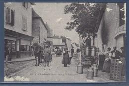 Rue De La Fromagerie Reproduction Carte Ancienne Guyenne Artisanat Livernon (Lot) - Livernon