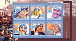Guinea 2010 MNH SS, Mother Teresa, Nobel Peace Prize Winner - Mother Teresa