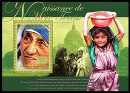 Guinea 2010 MNH SS, Mother Teresa (1910-1997) Nobel Peace Winner - Mother Teresa