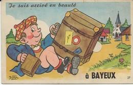 14 - 1044  -  BAYEUX  - Carte Systéme Avec 10 Vues - Bayeux