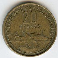 Djibouti Somalis French Somaliland 20 Francs 1952 KM 7 - Djibouti